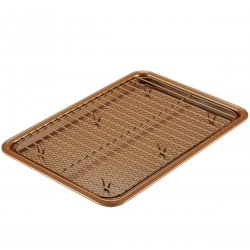 Ayesha Curry 47005 Cookie Pan Set, Copper, 2 Piece