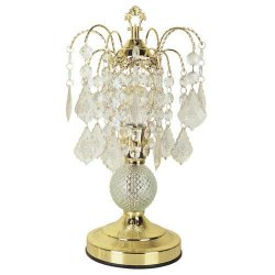 00ORE3056 Glass Touch Accent Lamp - Gold