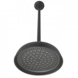 10 in. Shower Head with 17 in. Ceiling Mounted Shower Arm   Oil Rubbed Bronze