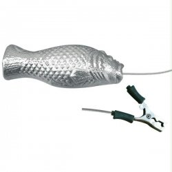 00630FISH Tecnoseal Grouper Suspended Anode with Cable & Clamp - Zinc
