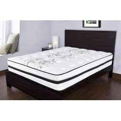 12.5 in. Orthopedic Premium Medium Plush Memory Foam Quilted Top Pocketed Coil - Twin